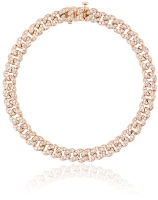 Shay Mini Pave Link diamond bracelet
