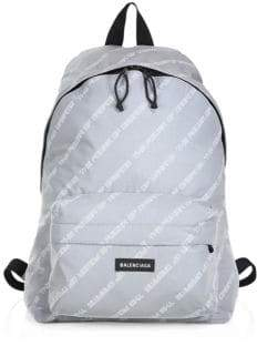 Balenciaga Men's Power Explorer Backpack - Grey