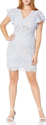Jessica Howard JessicaHoward Women's Short Sleeve Midi Length Sheath Dress