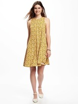 Old Navy Floral Swing Dress for Women