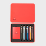 Paul Smith Caran d'Ache + 'Artist Stripe' Ballpoint Pen Collection In Presentation Case