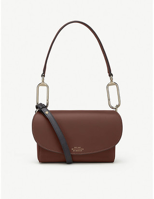 Smythson Equestrian leather cross-body bag