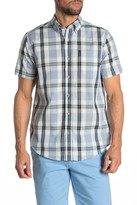 Ben Sherman Dogtooth Check Short Sleeve Union Fit Shirt