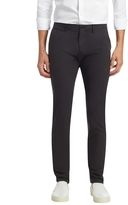Burberry Men's Cotton Flat Front Chinos