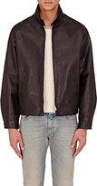 Maison Margiela Men's Harrington Leather Jacket