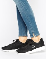 Le Coq Sportif Black Mesh R600 Sneakers