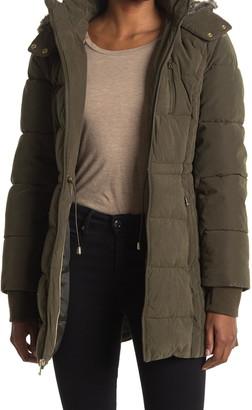 Nautica Faux Fur Lined Hood Puffer Jacket