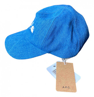 A.P.C. Blue Cloth Hats & pull on hats