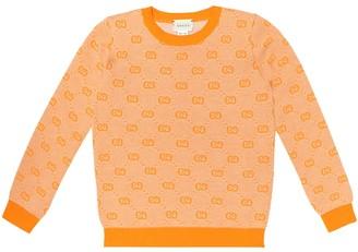 Gucci Kids GG wool-blend sweater