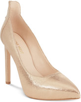 Nine West Lovelost Pointed-Toe Platform Pumps