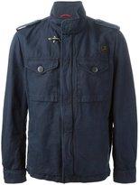 Fay military jacket - men - Cotton/Linen/Flax - XL
