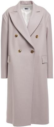 MM6 MAISON MARGIELA Double-breasted Wool-blend Felt Coat