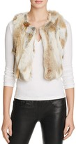 525 America Multi-Color Fur Super Crop Vest