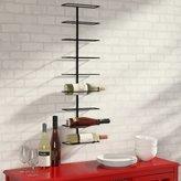 Zipcode Design Marlene 9 Bottle Wall Mounted Wine Rack