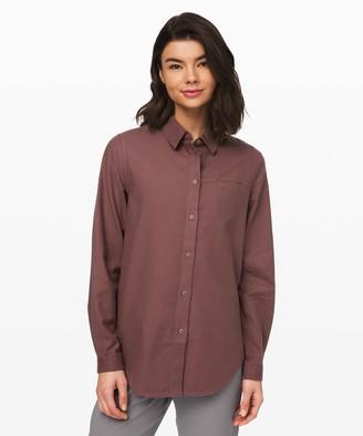 Lululemon Full Day Ahead Shirt *Flannel