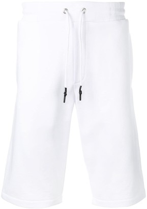 McQ Swallow Knee-High Track Shorts