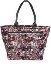 Le Sport Sac Bambi Floral Everygirl Tote