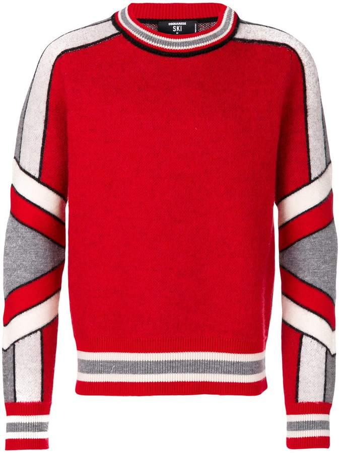 DSQUARED2 hockey style sweater