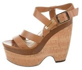 Rachel Zoe Platform Leather Sandals