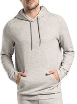 Hanro Raul Hooded Pullover Sweatshirt, Light Gray