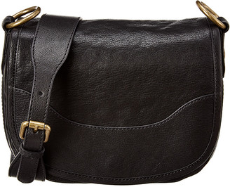 Frye Lucy Leather Saddle Bag