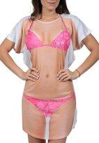 Ingear Women's Bathing Suit Cover Up Bikini Body Cover Up T-Shirt Dress Fun Wear