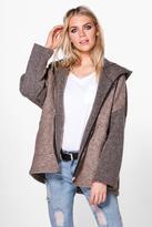 Boohoo Alicia Hooded Oversized Coat