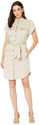 Lauren Ralph Lauren Self-Tie Shirtdress