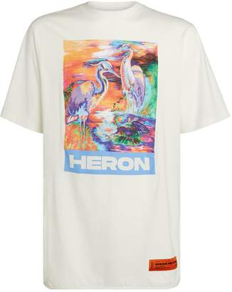 Heron Preston Multicoloured Heron T-Shirt