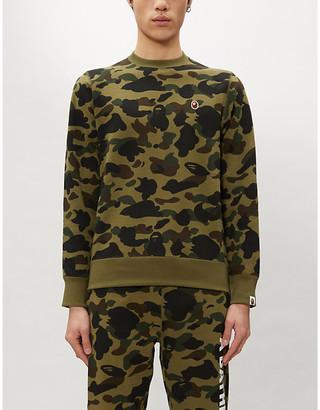 A Bathing Ape 1st Camo camouflage-print cotton-jersey sweatshirt