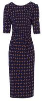 Dorothy Perkins Womens Jolie Moi Multi Colour Royal Bodycon Dress, Multi Colour