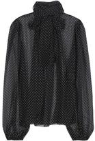 Dolce & Gabbana Polka-dotted Silk Shirt