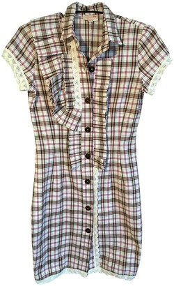 N. \n Multicolour Cotton Dress for Women