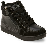 Kenneth Cole Reaction Kids Boys) Black Think Fast High Top Sneakers