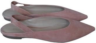 Michael Kors Pink Suede Flats