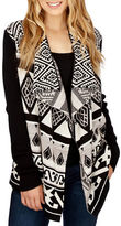 Lucky Brand Draped Open Front Cardigan