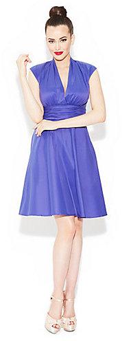 Betsey Johnson Betseys Faux Wrap Dress