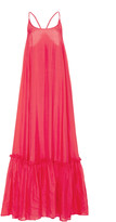 Bird & Knoll Karolina Silk Scoop Neck Maxi Dress