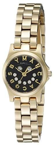 Marc by Marc Jacobs Women's MBM3386 Gold-Tone Stainless Steel Bracelet Watch