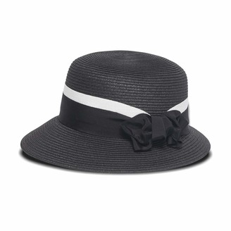 Physician Endorsed Women's Adjustable Head Size Spectator Round Crown Hat