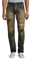 Cult of Individuality Rebel Straight Cotton Jeans