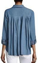 Generation Love Kris Pleat Back Denim Shirt