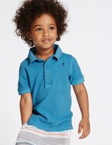 Marks and Spencer 2 Pack Pure Cotton Polo Shirt (3 Months - 5 Years)