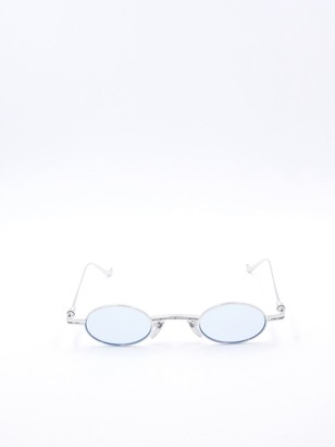 Chrome Hearts Oval Frame Sunglasses