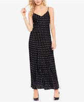 Vince Camuto Printed Maxi Slip Dress