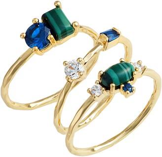 Gorjana Hudson Set of 3 Rings