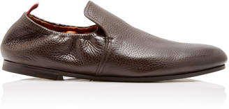 Bally Plank Leather Loafers Size: 7