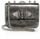 Christian Louboutin Sweet Charity Paris Metallic Crossbody Bag