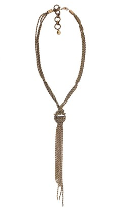 Lanvin Neckalce With Knot
