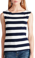 Polo Ralph Lauren Striped Sleeveless Cotton Top
